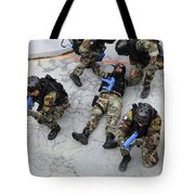 Members Of The Greek Navy Practice Tote Bag