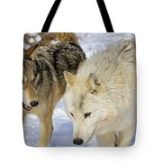 Members Of Wolf Pack Tote Bag