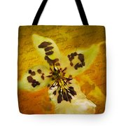Memories Of An  Orchid Tote Bag