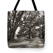 Memory Lane Monochrome Tote Bag by Steve Harrington