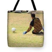 Men Soccer Action 1 Tote Bag
