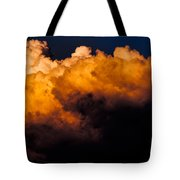 Menacing Cloud Tote Bag