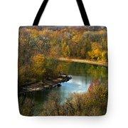 Meramec River Bend At Castlewood State Park Tote Bag