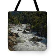 Merced River In Yosemite Tote Bag by Tim Mulina