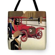 Mercedes Ad, C1914 Tote Bag