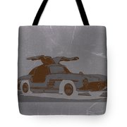 Mercedes Benz 300 Tote Bag by Naxart Studio