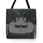 Mercedes Benz C IIi Concept Tote Bag by Naxart Studio
