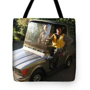 Mercedes Golf Cart Tote Bag