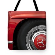 Mercedes Wheel Tote Bag
