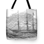 Merchant Steamship, 1844 Tote Bag