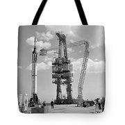 Mercury-redstone 3 Prelaunch Activities Tote Bag