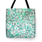 Mermaid Dreams Abstract Tote Bag