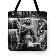 Mermaid Fountain Tote Bag