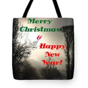 Merry Christmas And Happy New Year 2 Tote Bag