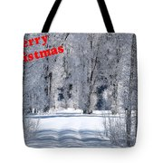 Merry Christmas Card 1 Tote Bag
