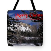 Merry Christmas From Our Home To Yours Tote Bag