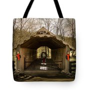 Merry Christmas From Tennessee Tote Bag