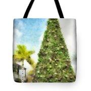 Merry Christmas Tree 2012 Tote Bag