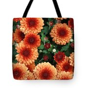 Merry Marigolds Tote Bag
