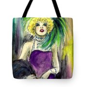 Merry Widow Tote Bag
