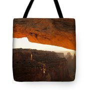 Mesa Arch First Light Tote Bag