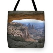 Mesa Arch In Utahs Canyonlands National Tote Bag