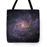 Messier 33, Spiral Galaxy In Triangulum Tote Bag by Robert Gendler