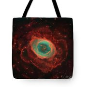 Messier 57, The Ring Nebula Tote Bag