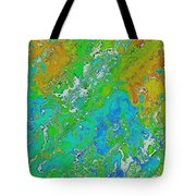 Messy Thick Paint Tote Bag