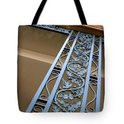 Metal Design Tote Bag