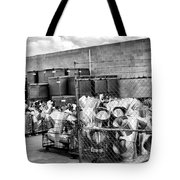 Metal Gear Palm Springs Tote Bag