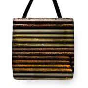Metal Stripe  Tote Bag