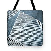 Metallic Frames Tote Bag