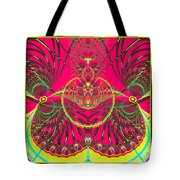Metamorphosis  Emerging From The Cocoon Fractal 125 Tote Bag