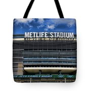 Metlife Stadium Tote Bag