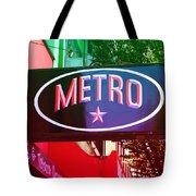 Metro Star Tote Bag