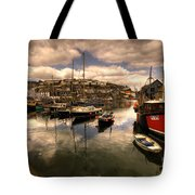 Mevagissy Harbour Tote Bag