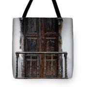 Mexican Balcony Tote Bag