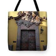 Mexican Door 28 Tote Bag