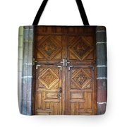 Mexican Door 29 Tote Bag