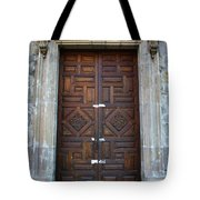 Mexican Door 32 Tote Bag
