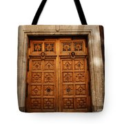Mexican Door 67 Tote Bag