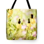 Mexican Hat In Yellow Tote Bag