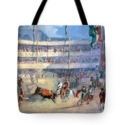 Mexico: Bullfight, 1833 Tote Bag
