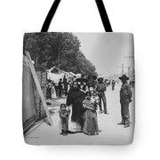 Mexico City - Alameda During Holy Week - C 1906 Tote Bag