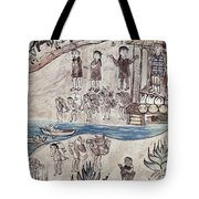 Mexico Indians C1500 Tote Bag
