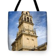 Mezquita Bell Tower Tote Bag