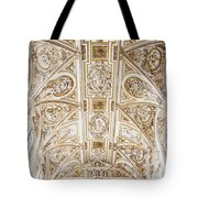 Mezquita Cathedral Ceiling Tote Bag