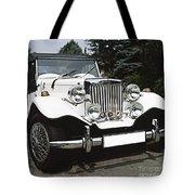 Mg Classic Car Tote Bag