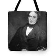 Michael Faraday, English Chemist Tote Bag